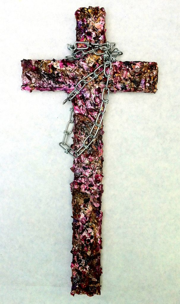 bubble gum grit cross