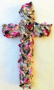 driftwood valentine cross
